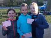 P6 girls crosscountry